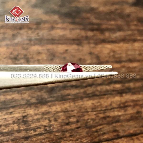 Đá ruby facet Lục Yên KG_RBF-0001 ảnh 3