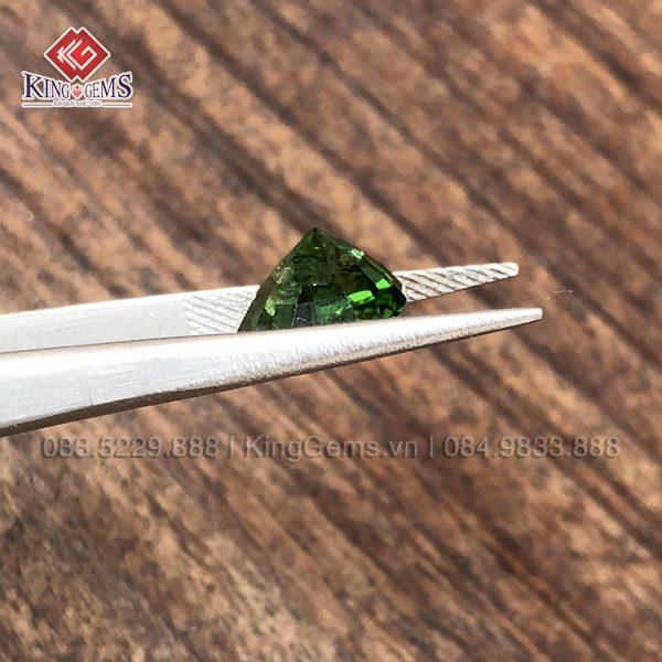 Mặt đá Tourmaline xanh KG-TML-0001 ảnh 2