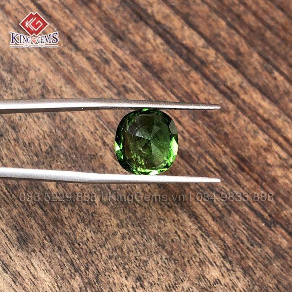 Mặt đá Tourmaline xanh KG-TML-0001 ảnh 3