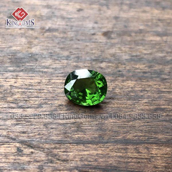 Mặt đá nhẫn Tuốc Ma Lin (Tourmaline) Lục Yên KG-TML-0006 ảnh 1