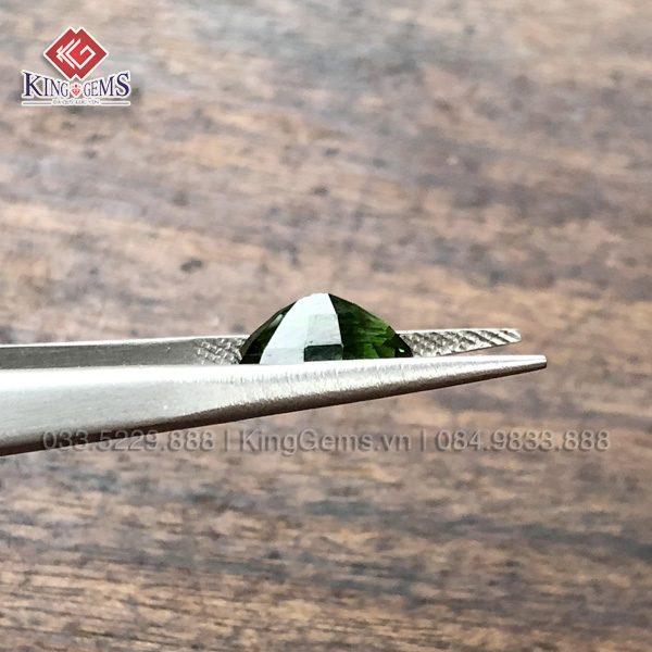 Mặt đá nhẫn Tuốc Ma Lin (Tourmaline) Lục Yên KG-TML-0006 ảnh 3