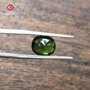Mặt đá nhẫn Tuốc Ma Lin (Tourmaline) Lục Yên KG-TML-0006 ảnh 4