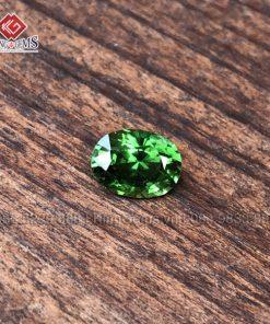 Mặt đá Tourmaline xanh lục KG-TML-0004 có độ trong, thiên nhiên 100% ảnh 4