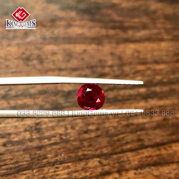 Đá ruby facet Lục Yên KG_RBF-0001