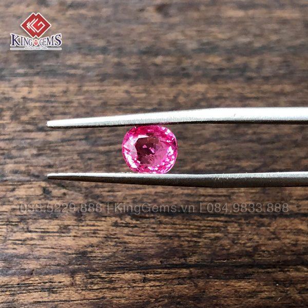 Mặt đá Spinel hồng 1.6ct KG-SPN-0001 ảnh 1