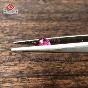 Mặt đá Spinel hồng 1.6ct KG-SPN-0001 ảnh 2
