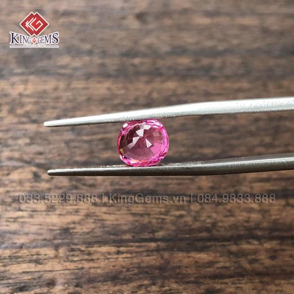 Mặt đá Spinel hồng 1.6ct KG-SPN-0001 ảnh 3