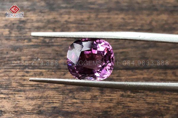 Mặt đá Spinel hồng ánh tím KG-SPN-0001-anh-5