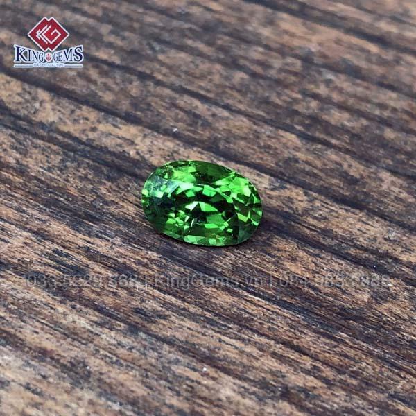 Mặt đá quý Tourmaline xanh lục KG-TML-0003 khai thác tại Lục Yên ảnh 1