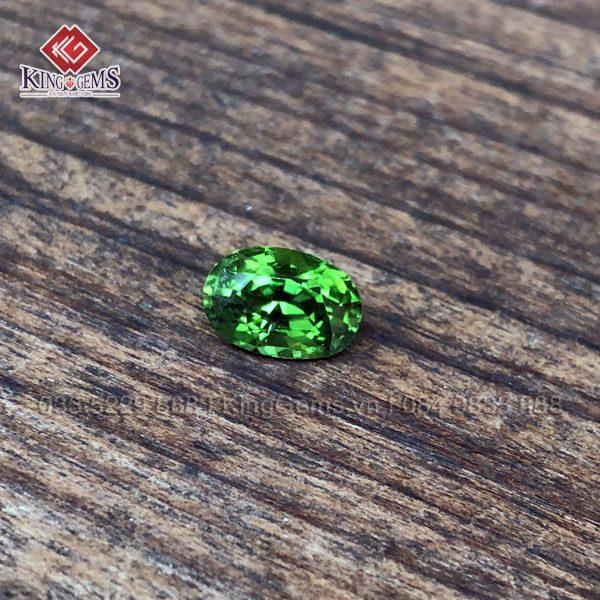 Mặt đá quý Tourmaline xanh lục KG-TML-0003 khai thác tại Lục Yên ảnh 3