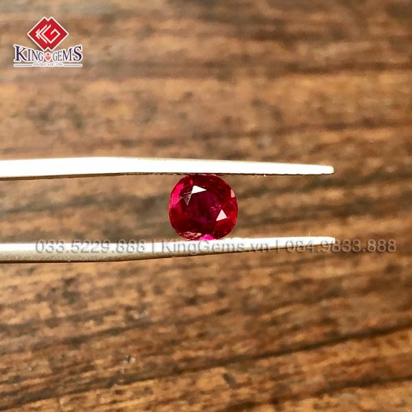 đá ruby huyết bồ câu chuẩn lục yên