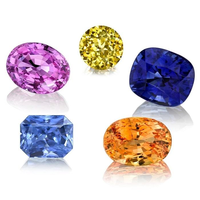 đá Sapphire thiên nhiên chất lượng cao
