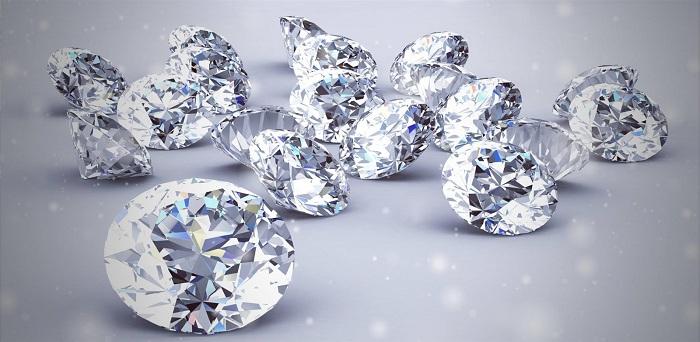 Kim cương loại 2 không chiếm số lượng lớn