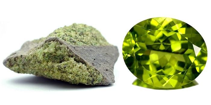 Khoáng vật Peridot và tinh thể Peridot