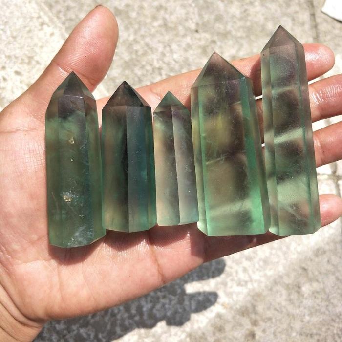Nhu cầu sử dụng đá Flourite ngày càng gia tăng mạnh mẽ
