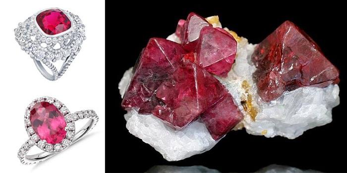 Trang sức làm từ đá Spinel có rất nhiều ý nghĩa đặc biệt