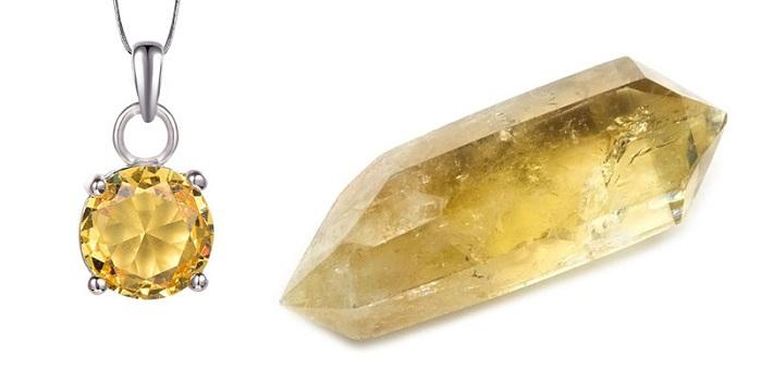 Thạch anh vàng mang lại vẻ đẹp quý phái cho người đeo