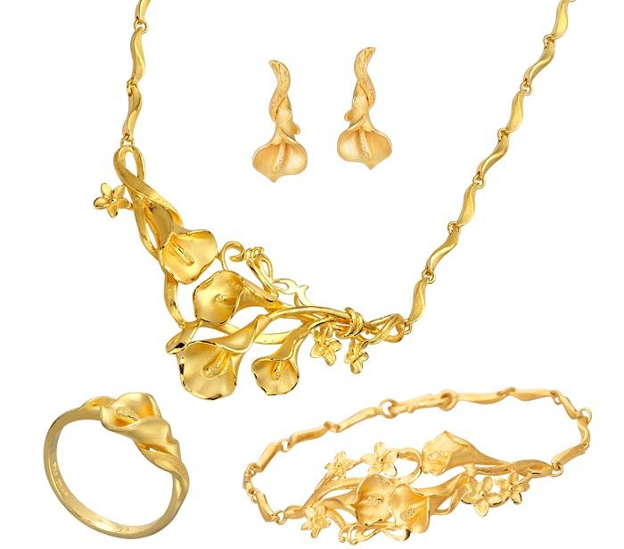 Vàng luôn là nguyên liệu làm trang sức hàng đầu