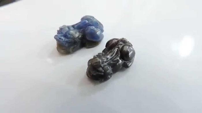 Đá Sapphire chủ yếu có màu xanh