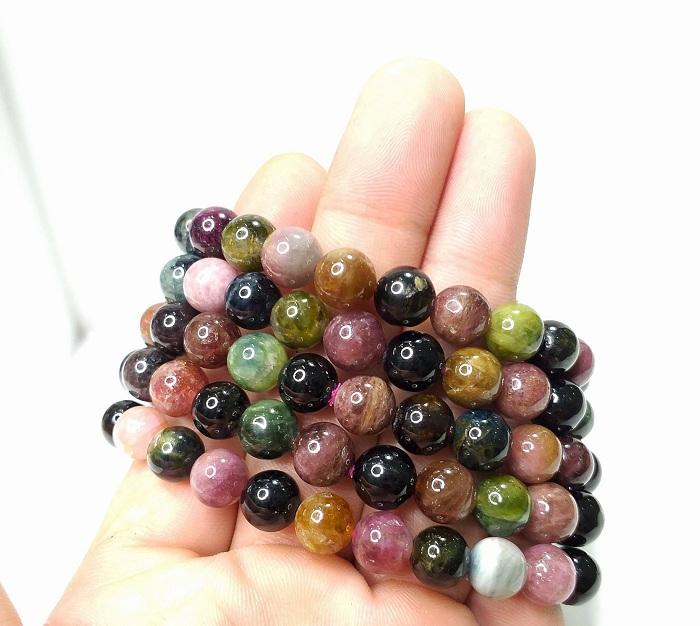 đá Tourmaline nhiều màu sắc