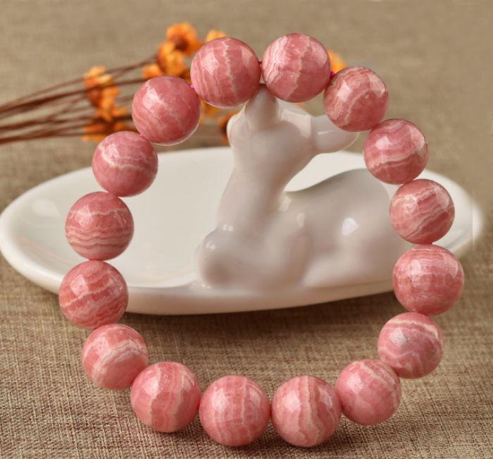 Đá đào hoa (ngọc vân hồng) Rhdochrosite