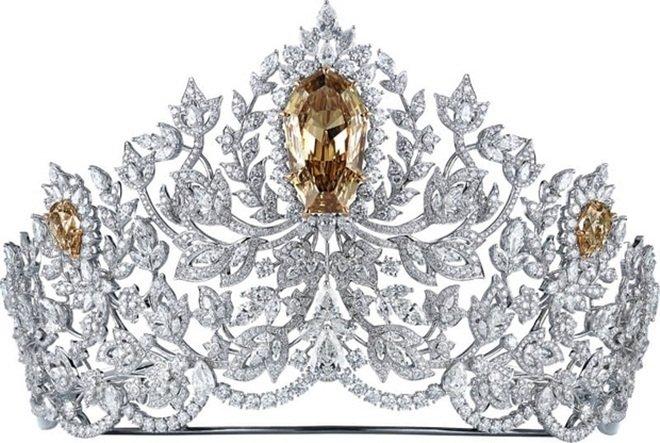 Điều đặc biệt của chiếc vương miện đắt giá nhất trong lịch sử các cuộc thi sắc đẹp thế giới