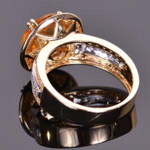 Cache Ring in Golden Citrine 5