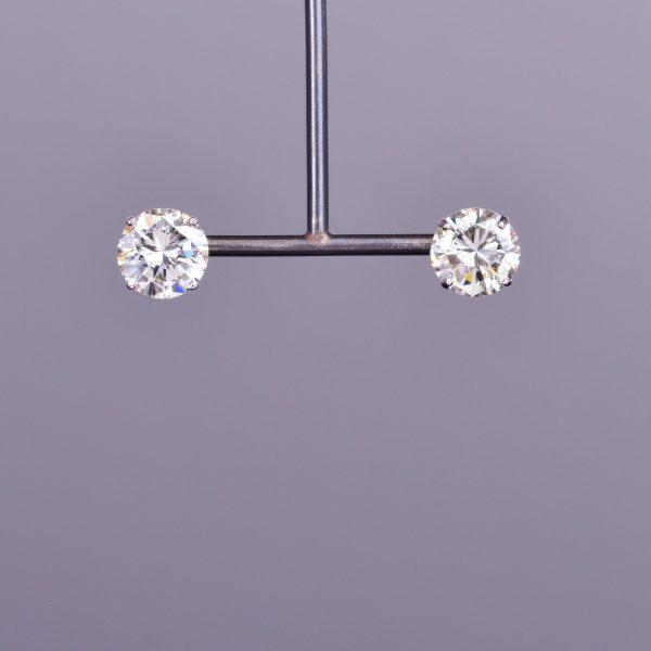 Diamond Stud Earrings 1