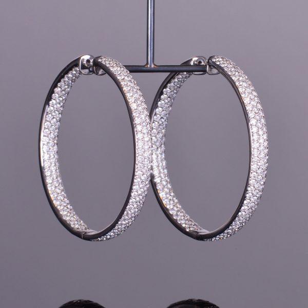 Duchess Diamond Hoops 1