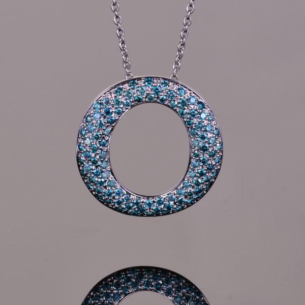 Blue Diamond Perpetual Light Pendant 1